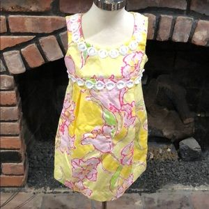 Other - Lilly Pulitzer Girls floral dress size 4
